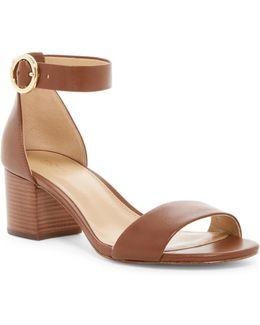 Lena Mid Block Heel Sandal