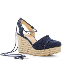 Tibby Closed Toe Wedge Sandal