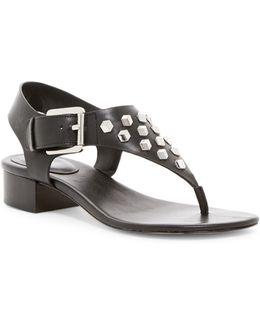 Valencia Studded Thong Sandal