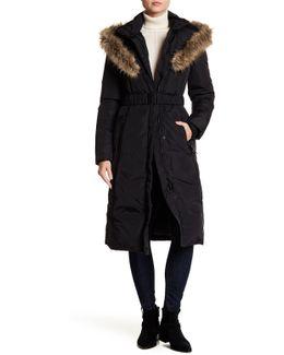 Faux Fur Trim Cameron Coat