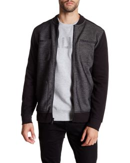 Bonded Knit Zip Jacket