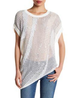 Asymmetric Knit Pullover