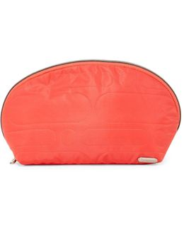 Large Oxford Nylon Cosmetic Bag