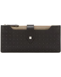 Blair Perforated Multi Pouch Wallet