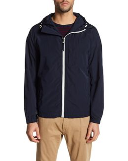 Hooded Chest Pocket Jacket