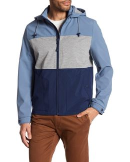 Hooded Colorblock Jacket