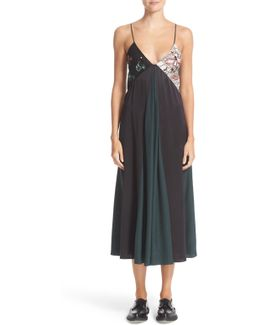 Sequin Camisole Dress