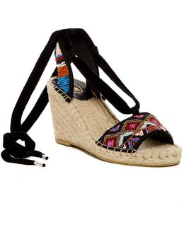 Paola Wedge Sandals