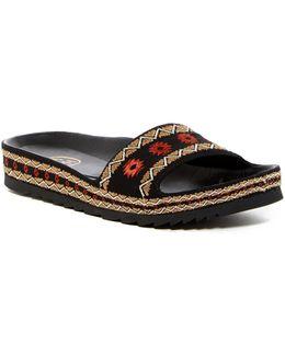 Uma Woven Slide Sandal