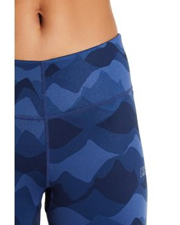 Printed Workout Ankle Pants