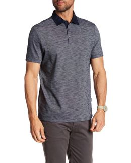 Short Sleeve Woven Regular Fit Polo