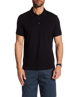 Short Sleeve Chevron Design Polo