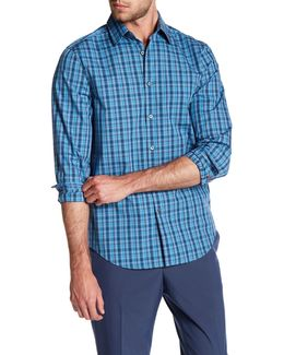 Plaid Long Sleeve Regular Fit Shirt