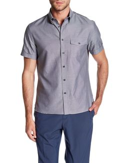 Woven Short Sleeve Regular Fit Shirt