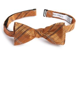 Silves Stone Plaid Bow Tie