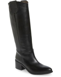 Gia Tall Riding Boot
