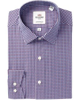 Camdem Check Tailored Slim Fit Dress Shirt