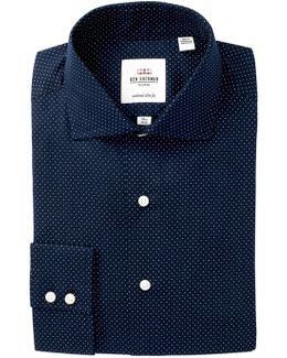 Kings Dot Tailored Slim Fit Dress Shirt