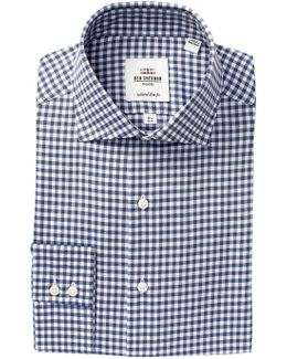 Kings Twill Trim Fit Dress Shirt