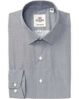 Camden Twill X-trim Fit Dress Shirt