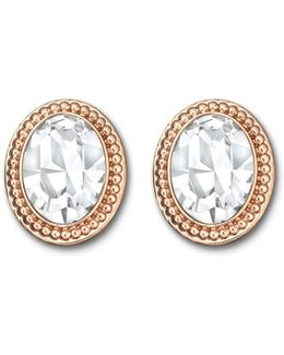 Arrive Crystal Button Earrings