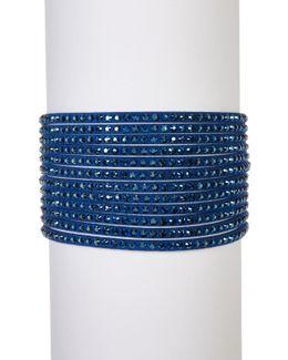 Slake Crystal Embellished Wrap Bracelet