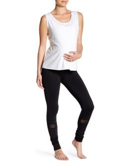 Mesh Panel Legging (maternity)