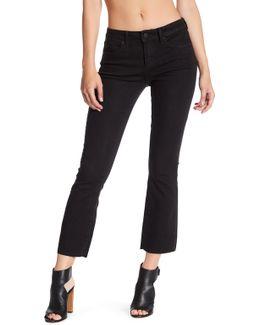London Crop Flare Jeans