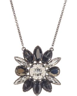 Crystal Shourouk Pendant Necklace