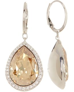 Crystal Accented Deduce Earrings