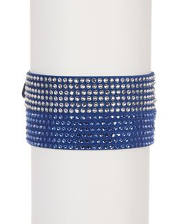 Slake Crystal Wrap Bracelet