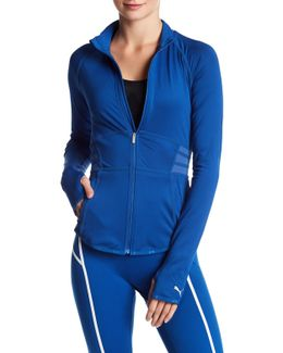 Mesh Power Shape Fitted Jacket