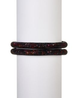 Stardust Crystal Wrap Bracelet - Medium