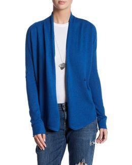 Asymmetrical Cashmere Cardigan