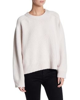 Luxe Crew Neck Cashmere Sweater