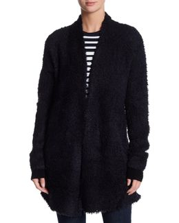 Furry Long Cardigan