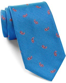 Best Of Class Paisley Silk Tie