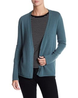 V-neck Long Sleeve Cashmere Cardigan