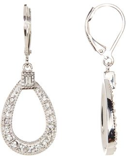 Sterling Silver Shine On Teardrop Earrings