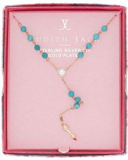 Inspire Me Boxed Arrow Pendant Y-necklace