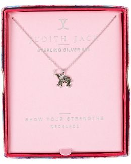 Charmed Life Boxed Elephant Pendant Necklace