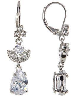 Crystal Small Drop Earrings