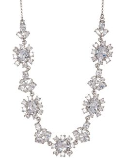 Cz Frontal Necklace
