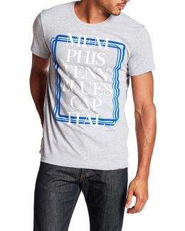 Graphic Blues Capital Tee