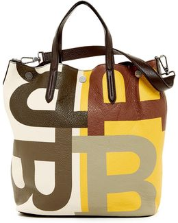 Trooper Leather Tote