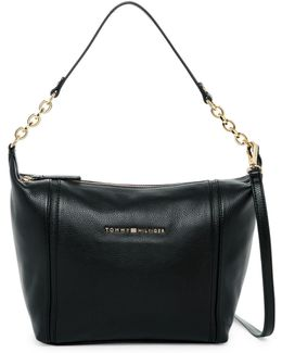 Eloise Leather Hobo Crossbody