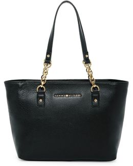 Eloise Leather Shopper