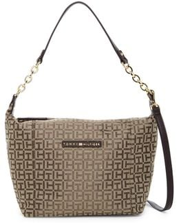 Eloise Logo Hobo Crossbody