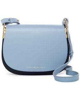 Icon Smooth Leather Saddle Bag