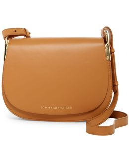 Icon Vachetta Leather Saddle Bag